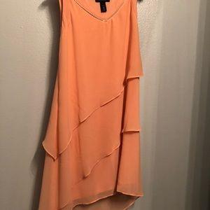 WHBM Hi/Lo tiered dress